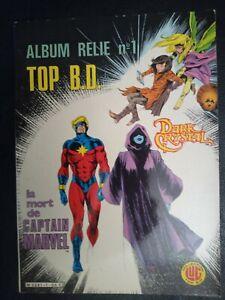 Album TOP BD n° 1 : Dark Crystal + La mort de Captain Marvel - LUG 1983 - TBE