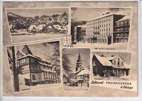 "Ansichtskarte Friedrichroda - Spießberghaus/Heim ""Walter Ulbricht""/Heuberghaus"