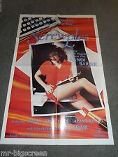 SCREWPLES - ORIGINAL FOLDED POSTER - KANDI BARBOUR/JAMIE GILLIS - 1979