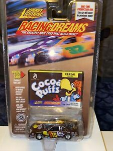 Johnny Lightning 15303 Racing Dreams Cereal Series Cocoa Puffs