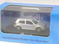 toll: Wiking VW Werbemodell VW Golf 4 die blaue Vier Düsseldorf 1998 in OVP