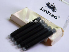 10pcs Jinhao fountain pen ink cartridges Black  New+ Brand assurance