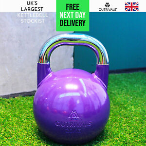 Competition Kettlebell 20kg Heavy Duty Steel Gym Fitness Crossfit Training