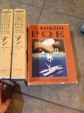 The Complete Poems and Stories of Edgar Allan Poe-The  Borzoi Poe Boxed Set 1958