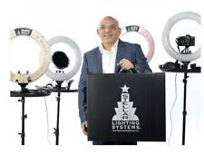 The New Stellar Diva ll Pro Ring Light + Photo Stand and Tray LIGHT PINK