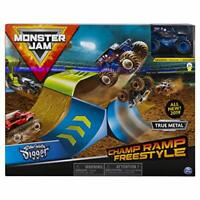 Monster Jam 6053296 Official Champ Ramp Freestyle Playset Featuring Exclusive
