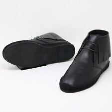 Saint Laurent High Top Men's Shoes Black uk 7 fringe espadrilles boots RRP £500