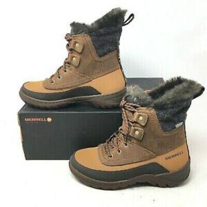MERRELL SYLVA MID WALKING TRAIL HIKING WATERPROOF Boots Last Pairs 3.5, 4