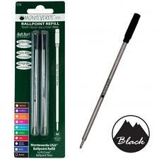 Ballpoint Refill To Fit Cross® Ballpoint Pens Medium Point 2pk Monteverde®USA