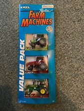 1/64 Ertl Deutz-Allis 6250, Case IH 7130 & John Deere Value Pack From 1989