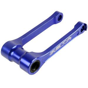 Zeta Mx Yamaha WR250/450 30mm Blue Motocross Dirt Bike Lowering Link