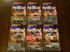 Matchbox 2018 MBX Entertainment Jurassic World Legacy Collection (Lot of 6) *NEW