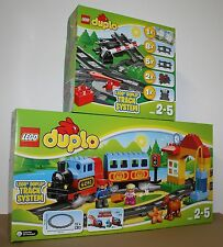LEGO® DUPLO 10507 Eisenbahn Starter Set + 10506 Eisenbahn Zubehör  Neu & OVP