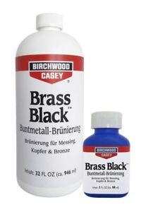 Messing brünieren - Brünierung Brass Black - Messing & Kupfer schwärzen 946ml