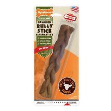 Nylabone Dura Chew Power Chew Bully Braid Stick Alternative Dog Chew Toy Giant