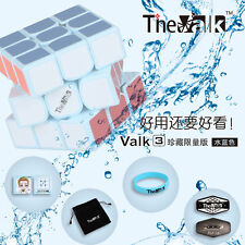 QY The Valk 3x3x3 Speed Magic Cube High-end Twist Puzzle Intelligence Toys Blue