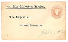 E167 1900 Qv Penny Pink Official Postal Stationery Eo33 Superb Cover *Yate Rso*