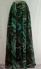 Women Skirts shiffon Long Full  Casual Wear Ladies Skirt Dress  in best price.