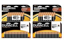 Duracell Coppertop Alkaline AA & AAA 64 Batteries (2 16-Packs AA/2 16-Packs AAA)