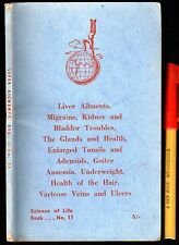 Vintage 64 page Home HEALTH Handbook GLANDS Organs Well-Being Old-Wisdom GC++