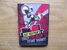 Mat Hoffman's Crazy Freakin' Stunt Show! (DVD, Mega Deluxe Collector's Ed. 2003)