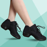 Woman Modern Dance Ballroom Breathable Shoes Dance Mesh Soft Sports Sneakers New