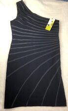 Cartise Black Dress One Shoulder US size 12 NWT