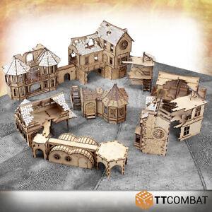 Fantasy Medievil Buildings   Tabletop Terrain for RPGs & Wargames MDF Assembly