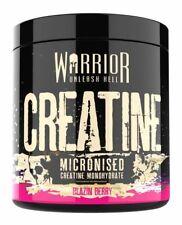 Warrior Creatine Monohydrate Powder 300g 100% Pure Micronized 60 Servs Berry