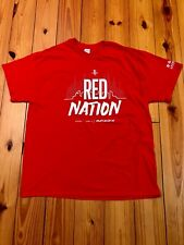 18b5b7231 HOUSTON ROCKETS - NBA - RED NATION PLAYOFFS T-SHIRT - ADULT XL - SGA
