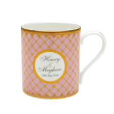 Halcyon Days Royal Wedding Prince Harry & Meghan Markle A Royal Wedding Mug Pink