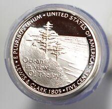 2005 S Jefferson Ov Proof Roll of Nickels Ocean View 5c Us Copper Nickel Coins