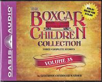 NEW The Boxcar Children Collection Volume 38 Gertrude Chandler Warner Audio Book