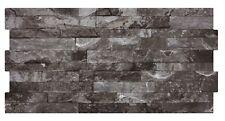 Pompeii Split Face Stone Effect Porcelain Feature Wall Tiles - Cut Sample