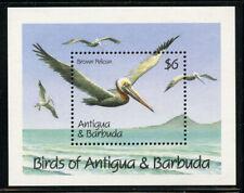 Antigua 1990 Birds S/S Sc# 1358-59 NH