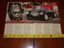 1955 AUSTIN HEALEY 100/4 HOT ROD ORIGINAL 2013 ARTICLE
