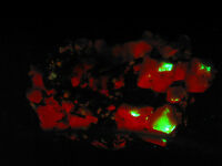 5379  UV Zirkon/Xenotim Aegirin Mikroklin Parisit Mt Malosa Malawi Speciemen