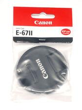 Canon Original Objektivdeckel 67mm Lens Cap E-67 II mit Innengriff (NEU/OVP)