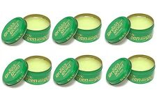 6 X Dax Wax Green and Gold 99g Tin