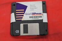 "QuarkXpress 3.2 Program Disc Installer 3.5"" Floppy Disk Disc Software Apple Mac"