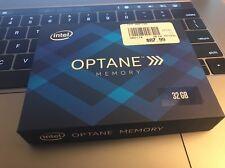 32GB Intel Optane M.2 2280 80mm PCIe 3.0 x2 SSD Memory Module