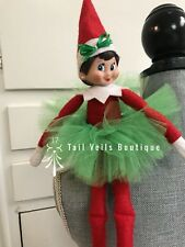 elf on the shelf clothes and accessories,tutu and hair bow set