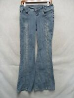 D2962 Jou Jou Stretch Cool Boot Cut Jeans Women 30x32