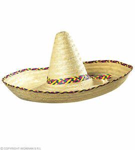 Riesen Sombrero XXL - Mexiko Hut 65 cm Durchmesser
