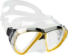Cressi DS261010 - Big Eyes Mask - Clear Yellow