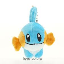 "New Mudkip Stuffed Pokemon Soft Plush Toy Doll Pokedoll anime 8cm 3"" Keychain"