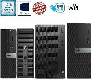 Dell HP i5 6th Gen Quad CORE Desktop SFF 16GB RAM 1TB Windows10 PC Computer WIFI
