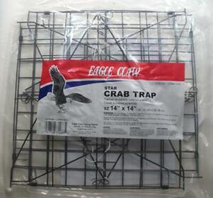 "Eagle Claw 10160-002 Wire Star Crab Trap 14"""
