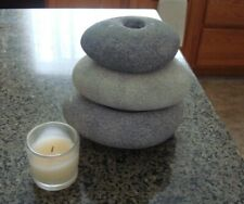 Partylite P9321 Stackable Stones Multi Candle Holders - 4 Piece Set