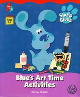 BLUE'S CLUES ART TIME ACTIVITIES PC GAME +1Clk Windows 10 8 7 Vista XP Install